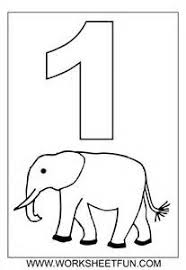 Small Picture Number 3 Coloring Pages Printable in numbers preschool by