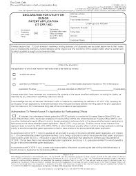 Mpep 602 01 B Inventor S Oath Or Declaration In Application Filed