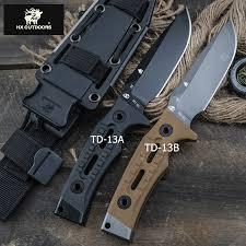 HX <b>OUTDOORS</b> TD-13 D2 BLADE tactical straight knife <b>outdoor</b> ...