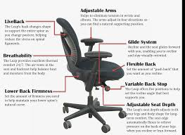 steelcase leap office chair unisource furniture parts inc seat height inches standing desk attachment small dining