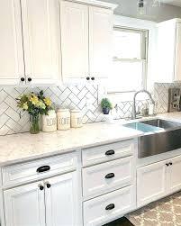 kitchen ideas white cabinets black countertop. Kitchen Backsplash Ideas With White Cabinets Black Countertops Countertop L