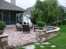 Small Picture Patio Wall Design There Are More Outdoor Patio Ideas With Brick