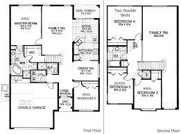 5 bedroom floor plans. Bedroom House Floor Plan Five Ranch Home Plans Designs 5 T