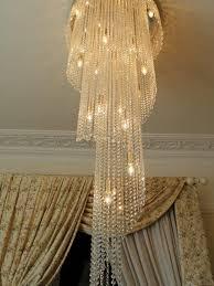 spiral chandeliers