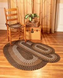 rug accent runner area 3 pc or chair pad 4 pc sets polypropylene durable braided