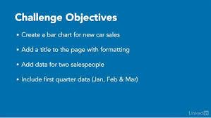 Challenge Create A Bar Chart