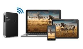 My Passport Wireless WD backs up tablet laptop smartphone android ios mac windows