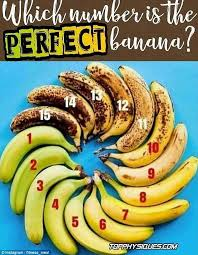 Banana Ripeness Chart How Ripe Bananas Should Be Before Theyre Eaten Goes Viral