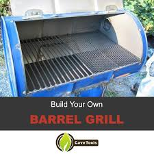 build your own barrel grill