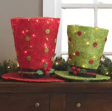 lighted top hats