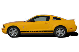 2005 Mustang Color Chart 2005 2009 Ford Mustang Wildstang Rocker 2 Factory Oem Style Lower Rocker Stripes Vinyl Decal Graphics