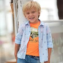 <b>Рубашка</b> с длинным рукавом для мальчика от 2 до 9 лет Голубой ...