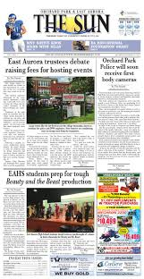 Orchard Park East Aurora Sun 01 10 2015 By Community Papers Of Wny