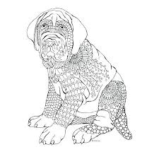 Coloring Pages Dogs Printable Dog Coloring Pages To Print Printable