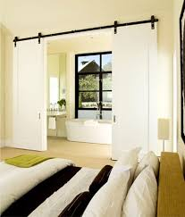 image of modern interior barn doors furniture
