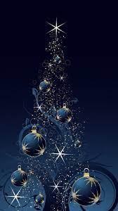Blue Christmas Wallpaper on WallpaperSafari