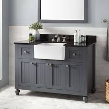 bathroom vanity with sink and mirror. wonderful 48 square mirror and fascinating black farmhouse vanity for bathroom ideas with sink