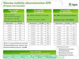 kpn lease telefoon
