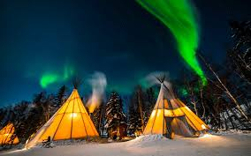 Northern Lights Fitness Canada Canadas Aurora Village Is One Of The Best Places In The
