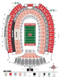 Ohio State University Horseshoe Stadium Seating Chart Centralfloridabuckeyes Com The Horseshoe