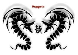 Nádherný Tetování Draci Ggbcalwen