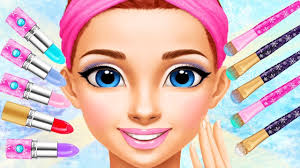 fun care princess gloria makeup salon kids games frozen beauty makeover games for s