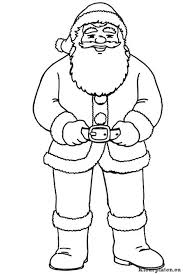 Kerstman Kleurplaat 909129 Kleurplaat