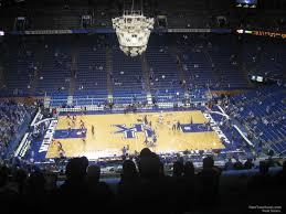 Rupp Arena Section 231 Kentucky Basketball Rateyourseats Com