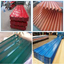 colored coated galvanized corrugated iron roofing plate metal roofing sheet