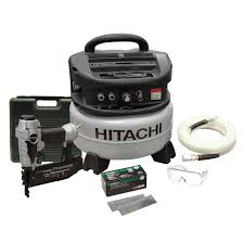 hitachi pancake air compressor. air compressor and finishing nailer hitachi pancake air compressor