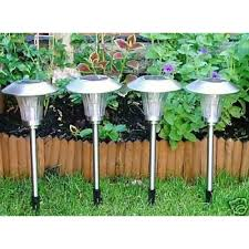 Solar ST363 Stainless Steel Garden Light Price In Pakistan At Solar Garden Lights Price