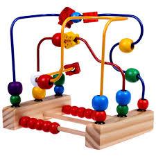 Baby toys beads around 1-2 months age female baby Tong Yizhi force developed nine Buy