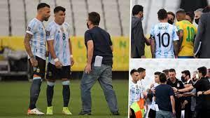 Brezilya Arjantin maçı devam edecek mi? maç ertelendi mi? neden ertelendi?  - makrokedi