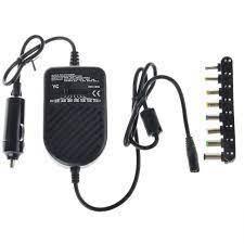 Evrensel 80 W DC Araba şarjı Dizüstü Dizüstü Adaptörü Ayarlanabilir LED  Otomatik Güç Kaynağı Seti + 8 Çıkarılabilir Fişler Bilgisayar şarjı Laptop  Aksesuarları - Perfectstops.news
