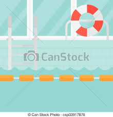 swimming pool vector. Vector. Background Of Swimming Pool. - Csp33917876 Pool Vector O