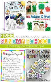 Free Sunday School Printables
