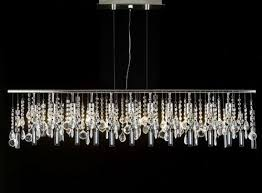 linear crystal chandelier. Modern Contemporary Broadway Linear Crystal Chandelier Lighting Lamp 48\u0026quot; N