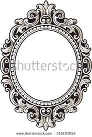 vintage frame tattoo design. Wonderful Frame Vector Vintage Border Frame Engraving With Retro Ornament Pattern In Antique  Rococo Style Decorative Design To Vintage Frame Tattoo Design I