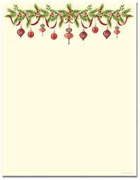 Christmas Stationery Template Word Barca Fontanacountryinn Com