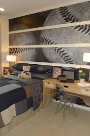 Unique Sports Home Decor Idea - great idea for a Boy's room or man cave. I  could see this in our house, but with a football.
