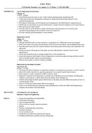 Process Resume Samples Velvet Jobs