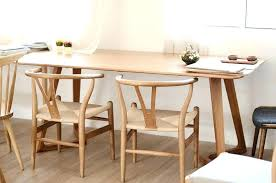 ikea birch dining table wood dining table creative foot shaped solid glass round ikea bjursta birch