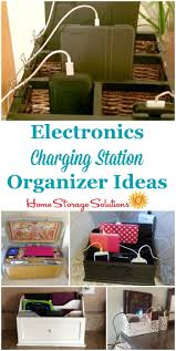 lots of electronics charging station organizer ideas for your home to charge all kinds of