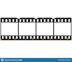 Filmstrip Logo Template Vector Illustration Stock Vector