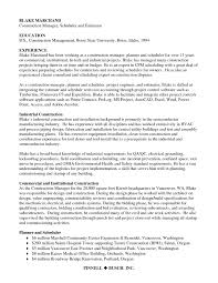 Construction Project Coordinator Resume Sample Why Using A