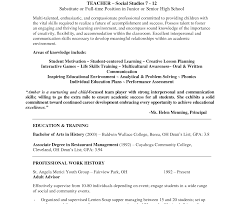 Incredibleample Teacher Resume Readingamples Velvet Jobs Templates ...