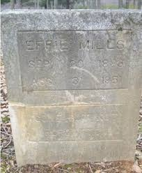 Effie Payne Mills (1883-1951) - Find A Grave Memorial