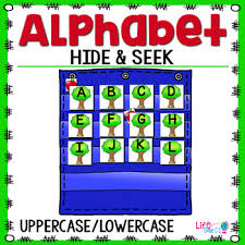 Apple Tree Pocket Chart Alphabet Hide Seek Pocket Chart Cards Apple Tree Theme