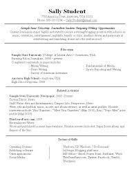 Part Time Job Cv Template Resume Objective For Part Time Job 34796 Birdsforbulbs