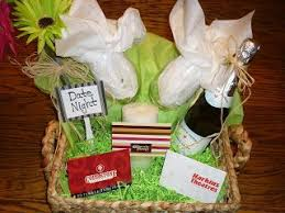 date night gift basket 50 cheesecake factory gift card 25 harkins gift card 10 coldstone creamery gift card candle wine gles bottle of sparkling